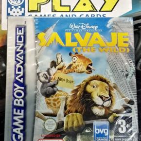 SALVAJE THE WILD DISNEY PAL ESPAÑA NUEVO PRECINTADO GBA GAME BOY ADVANCE