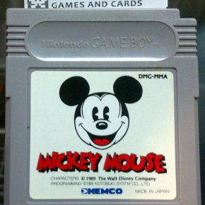 MICKEY MOUSE SOLO CARTUCHO JAPAN IMPORT DISNEY KEMCO GAMEBOY GAME BOY GB CLASSIC