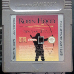 ROBIN HOOD PRINCE OF THIEVES PAL ESPAÑA CARTRIDGE GAMEBOY GAME BOY GB CLASSIC
