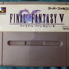 FINAL FANTASY V 5 CARTUCHO NTSC JAPAN IMPORT SNES SUPER FAMICOM NES NINTENDO SFC