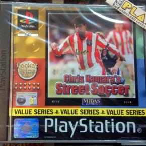 CHRIS KAMARA'S STREET SOCCER PAL ESPAÑA NUEVO SELLADO PSX PLAYSTATION PS1 PSONE