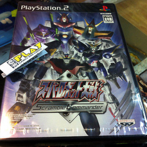 SUPER ROBOT TAISEN WARS SCRAMBLE COMMANDER PS2 PLAYSTATION 2 NUEVO NEW SEALED