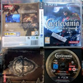 CASTLEVANIA LORDS OF SHADOW PAL ESPAÑA COMPLETO PS3 PLAYSTATION 3 ENVIO 24H