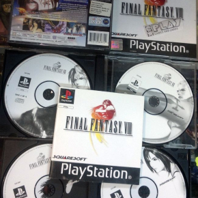 FINAL FANTASY VIII 8 PAL ESPAÑA PSX PLAYSTATION PS1 PSONE FF8 FFVIII ENVIO 24 H