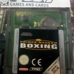 PRINCE NASEEM BOXING PAL CARTUCHO GAME BOY COLOR GAMEBOY GBC ENVIO AGENCIA 24H