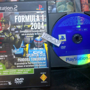 OPS2M DEMO 49 REVISTA OFICIAL PS2 PAL ESPAÑA SONY PLAYSTATION 2 ENVIO AGENCIA24H