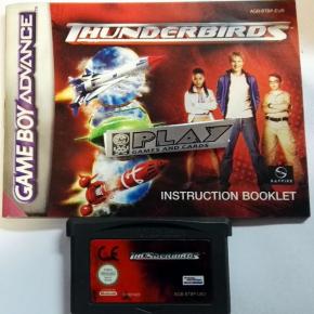 THUNDERBIRDS PAL GAME BOY GAMEBOY ADVANCE GBA CORREO CERTIFICADO / AGENCIA 24H
