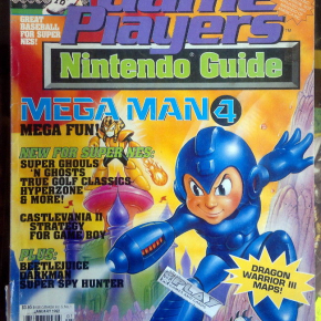 GAME PLAYERS NINTENDO GUIDE JAN 1992 VOL 5 NO 1 MAGAZINE REVISTA INGLES MEGA MAN