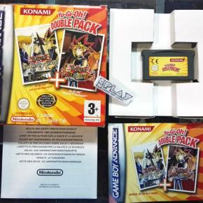 YU GI OH DOUBLE LAS CARTAS SAGRADAS + RESHEF EL DESTRUCTOR GAME BOY ADVANCE GBA
