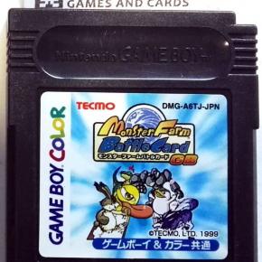 Monster Farm Rancher Battle Card GB GAME BOY COLOR GAMEBOY GBC DMG-A6TJ-JPN