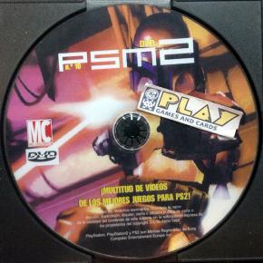 PSM 2 No 10 BONUS DVD DE REVISTA PSM2 PAL ESPAÑA SOLO DISCO PS2 PLAYSTATION 2