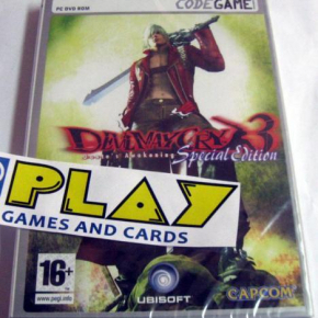 DEVIL MAY CRY 3 SPECIAL EDITION DANTE'S AWAKENING PC PAL ESPAÑA NUEVO PRECINTADO