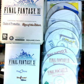 FINAL FANTASY XI ONLINE PC CHAINS OF PROMATHIA RISE OF THE ZILART ENGLISH UK