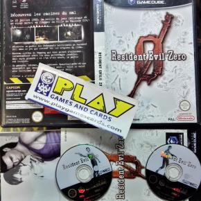 RESIDENT EVIL ZERO 0 PAL FRANCE GAMECUBE GAME CUBE GC ENVIO 24H