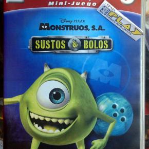 MONSTRUOS SA S.A SUSTOS & Y BOLOS PAL ESPAÑA PC ENVIO CERTIFICADO / AGENCIA 24H