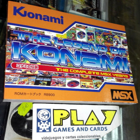 LIBRO BOOK THE LEGEND OF KONAMI THE COMPLETE MSX YEARS UPDATED VERSION April2017