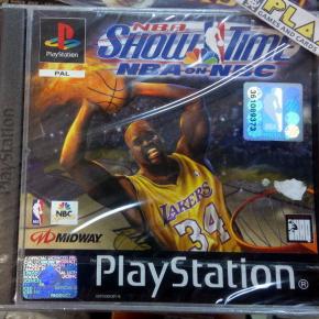 NBA SHOW TIME NBA ON NBC PAL ESPAÑA NUEVO SELLADO NEW PSX PLAYSTATION PS1 PSONE
