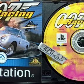 007 RACING SOLO DISCO + MANUAL PAL ESPAÑA PLAYSTATION PSX PS1 PSONE ENVIO 24H