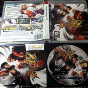 STREET FIGHTER IV 4  PS3 PLAYSTATION 3 PAL ESPAÑA COMPLETO ENVIO AGENCIA 24HORAS