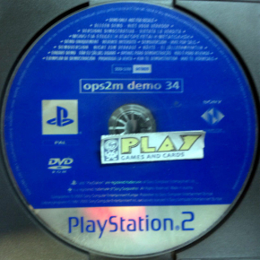 OPS2M DEMO 34 REVISTA OFICIAL PS2 PAL SOLO DISCO CD SONY PLAYSTATION 2 ENVIO 24H