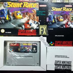 STUNT RACE FX PAL COMPLETO BUEN ESTADO SUPER NES NINTENDO SNES ENVIO 24H