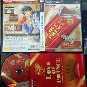 PRINCE OF TENNIS NO OJI-SAMA LOVE OF PRINCE SWEET JAPAN IMPORT PS2 PLAYSTATION