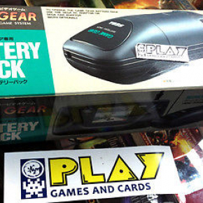 BATTERY PACK BATERIA SEGA GAME GEAR OFICIAL JAPONES CON CAJA