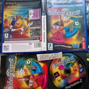 TRIVIAL PURSUIT TREPIDANTE UNHINGED PAL ESPAÑA EN BUEN ESTADO PLAYSTATION 2 PS2