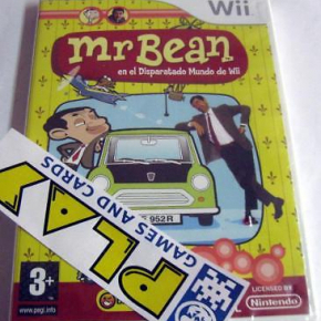 MR BEAN WII EN EL DISPARATE MUNDO DE WII PAL ESPAÑA NUEVO PRECINTADO NEW SEALED
