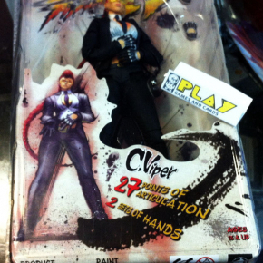 FIGURA FIGURE C. VIPER STREET FIGHTER IV 4 NUEVA PRECINTADA NEW SEALED BLISTER