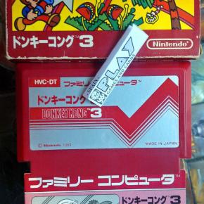 DONKEY KONG 3 III JAPAN NTSC COMPLETO BUEN ESTADO FAMICOM NES NINTENDO ENVIO24H