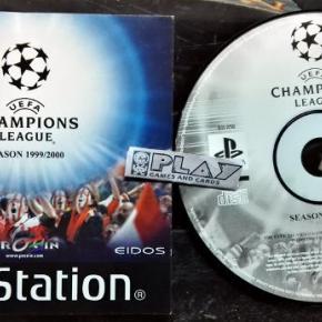 UEFA CHAMPIONS LEAGUE SEASON 1999/2000 PAL DISCO + MANUAL PSX PLAYSTATION PS1