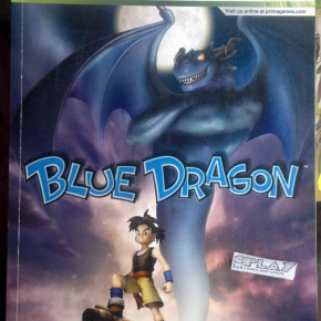 BLUE DRAGON OFFICIAL GAME GUIDE GUIA INGLES MUY BUEN ESTADO MICROSOFT XBOX 360