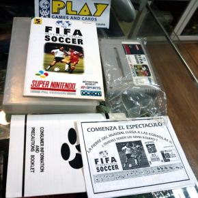 FIFA INTERNATIONAL SOCCER SUPER NINTENDO SNES PAL ESPAÑA CON MANUAL EA