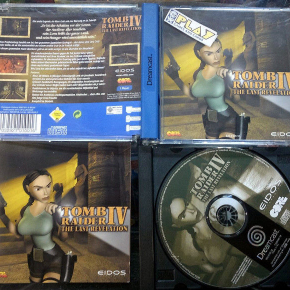 TOMB RAIDER IV 4 THE LAST REVELATION DREAMCAST PAL COMPLETO ENVIO AGENCIA 24H