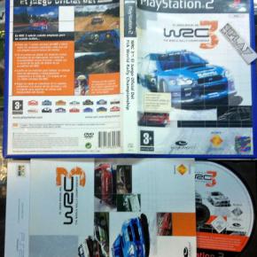WRC 3 FIA WORLD RALLY CHAMPIONSHIP PAL ESPAÑA PS2 PLAYSTATION 2 ENVIOCERTIFICADO