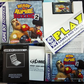 READY 2 RUMBLE BOXING ROUND 2 PAL COMPLETO NINTENDO GAME BOY GAMEBOY ADVANCE GBA