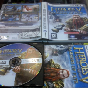 HEROES OF MIGHT AND MAGIC V 5 HAMMERS OF FATE COMO NUEVO PC PAL ESPAÑA HOMM5
