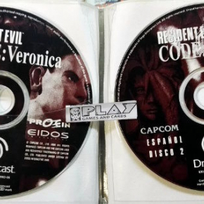 RESIDENT EVIL CODE VERONICA PAL ESPAÑA SOLO DISCOS PAL DC DREAMCAST ENVIO 24H
