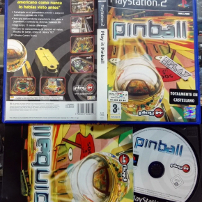 PLAY IT PINBALL PAL ESPAÑA COMPLETO PS2 PLAYSTATION 2 ENVIO CERTIFICADO / 24H