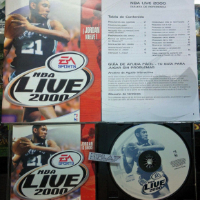 NBA LIVE 2000 PC PAL ESPAÑA CASTELLANO BUEN ESTADO EA SPORTS ENVIO AGENCIA 24H