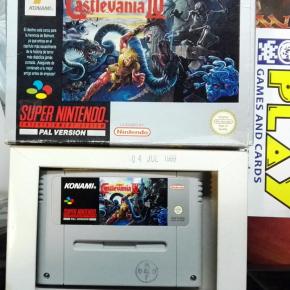 SUPER CASTLEVANIA IV 4 PAL ESPAÑA KONAMI 1992 SUPER NINTENDO NES SNES ENVIO 24H