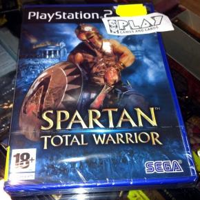 SPARTAN TOTAL WARRIOR PS2 PLAYSTATION 2 PAL ESPAÑA NUEVO PRECINTADO ENTREGA 24H