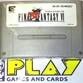 Final Fantasy VI 6 NTSC JAPAN IMPORT SNES SFC SUPER FAMICOM NES NINTENDO