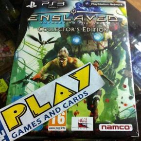 ENSLAVED ODYSSEY PS3 EDICION COLECCIONISTA NUEVO SEALED