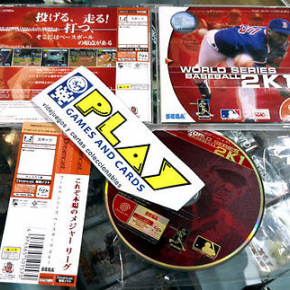 WORLD SERIES BASEBALL 2K1 SEGA DREAMCAST JAPONES SPINE CARD COMPLEOT WOW