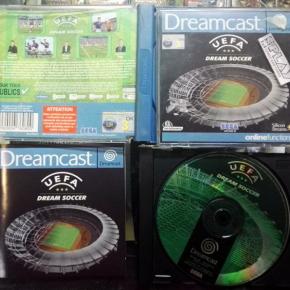 UEFA DREAM SOCCER PAL COMPLETO BUEN ESTADO SEGA DREAMCAST DC ENVIO AGENCIA 24H