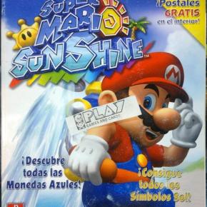 SUPER MARIO SUNSHINE GUIA OFICIAL ESPAÑOL NUEVA CON POSTALES NINTENDO GAMECUBE