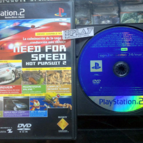 OPS2M DEMO 24/EUR REVISTA OFICIAL PS2 PAL ESPAÑA PLAYSTATION 2 ENVIO AGENCIA 24H