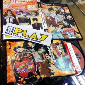KATEKYOO HITMAN REBORN NERAE!? RING X BONGOLE RETURNS PS2 PLAYSTATION 2 COMPLETO